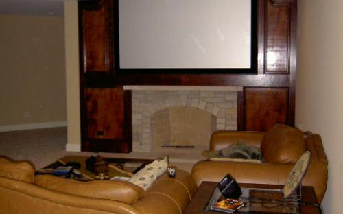 8' Home Theater Screen