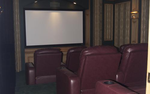 100% Custom Movie Theater, Mchenry IL