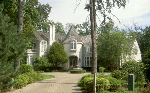 This was a 10,000 sq. ft. custom house in Long Grove, IL