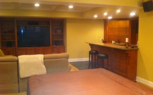 Bull Valley basement