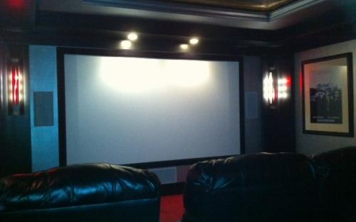 Space Theme Movie Theater
